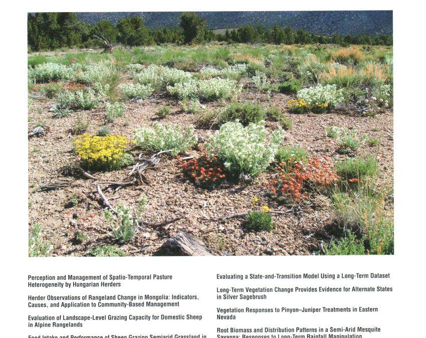 ENLC ecologist lands publication, cover photo